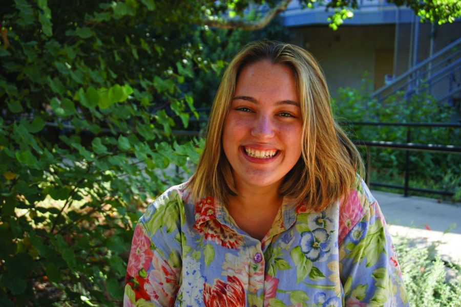 Senior Emma Wade runs the Gradient Instagram page to give Westmont's LGBTQ+ students a safe space.