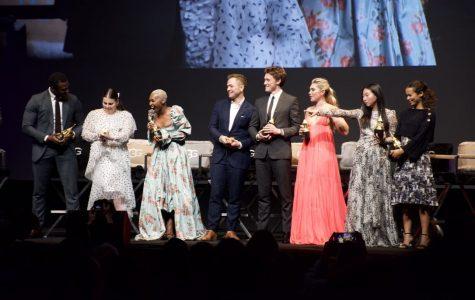 Aldis Hodge, Beanie Feldstein, Cynthia Erivo, Taron Egerton, George MacKay, Florence Pugh, Awkwafina, and Taylor Russell were named 2020's acting Virtuosos.