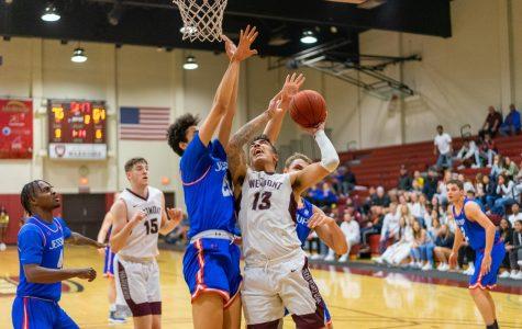 Men's basketball dominates GSAC