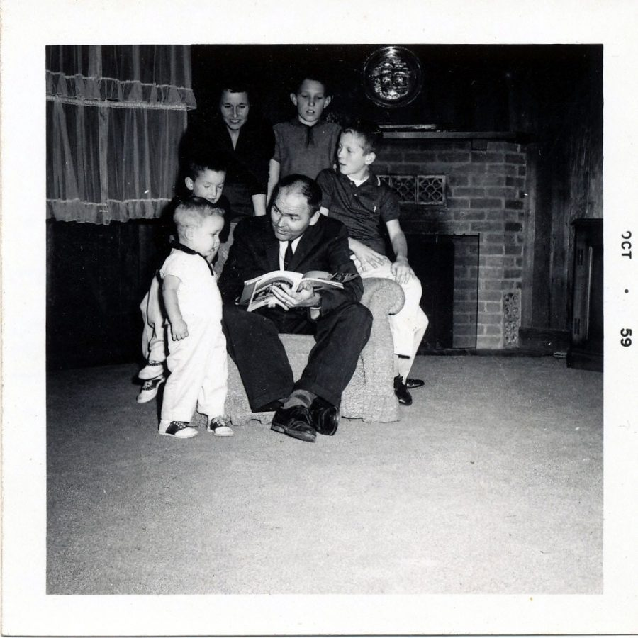 The+Shelton+family+circa+1960.+