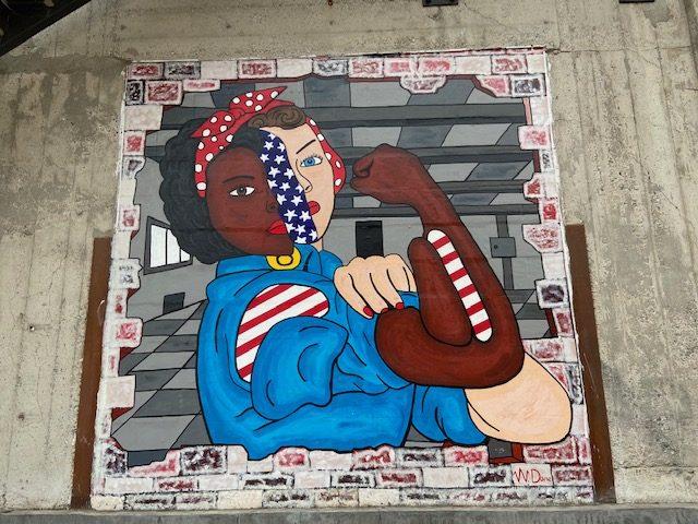 SB Rosie Mural
