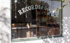 Warbler Records is a hole-in-the-wall-style record shop on De La Guerra Street.