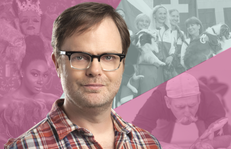 Rainn Wilson narrates an overview of the worlds wacky and weird competitions