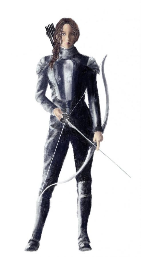 Katniss Everdeen successfully depicts a strong woman without belittling conventional femininity.