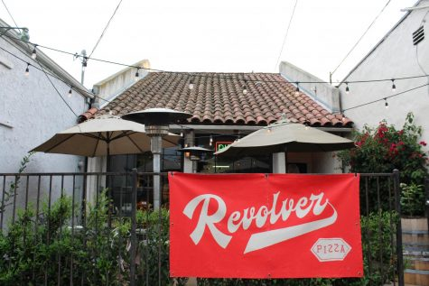 Located at 1429 San Andres Street, Revolver Pizza serves authentic, hand-made pizza.