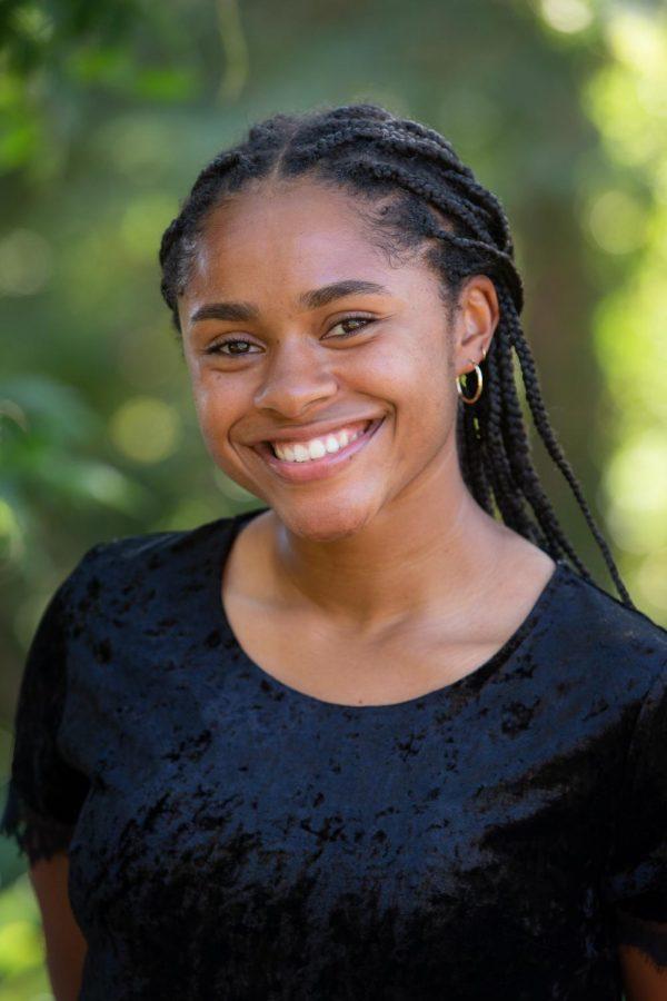 Student leader, Tori Davis, is studying cellular and molecular biology.