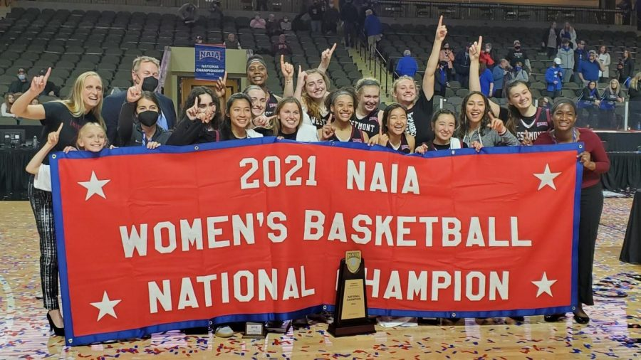 The womens basketball team won the NAIA National Championships for the second time in program history.