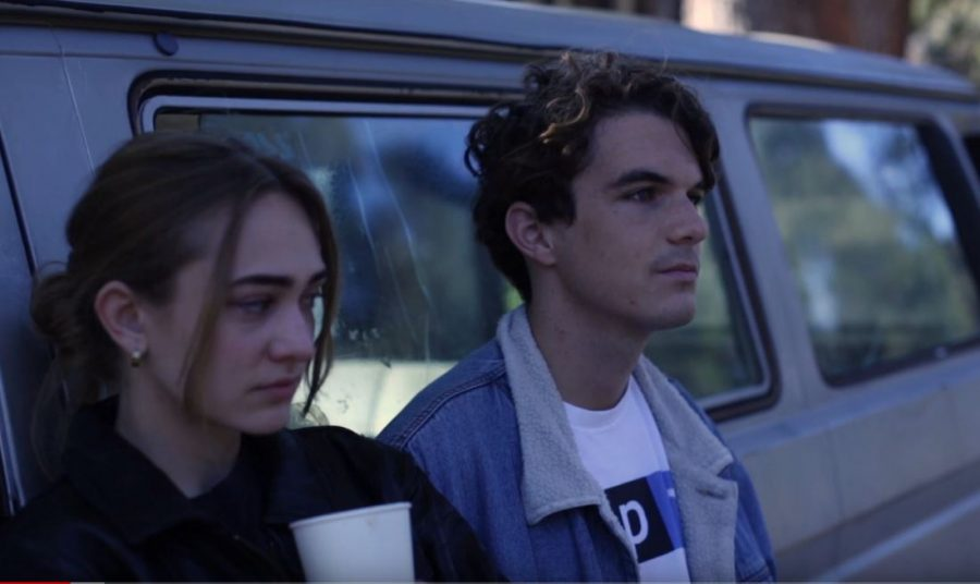 Autumn (Alex Gabriel) and Reese (Luke Spicer) struggle to understand themselves and each other.