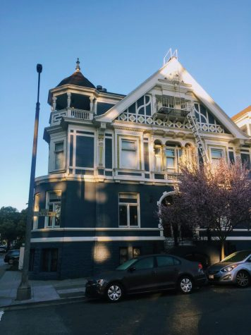 The Clunie House, located in the Haight-Ashbury neighborhood, is home to Westmonts off-campus program in San Francisco.