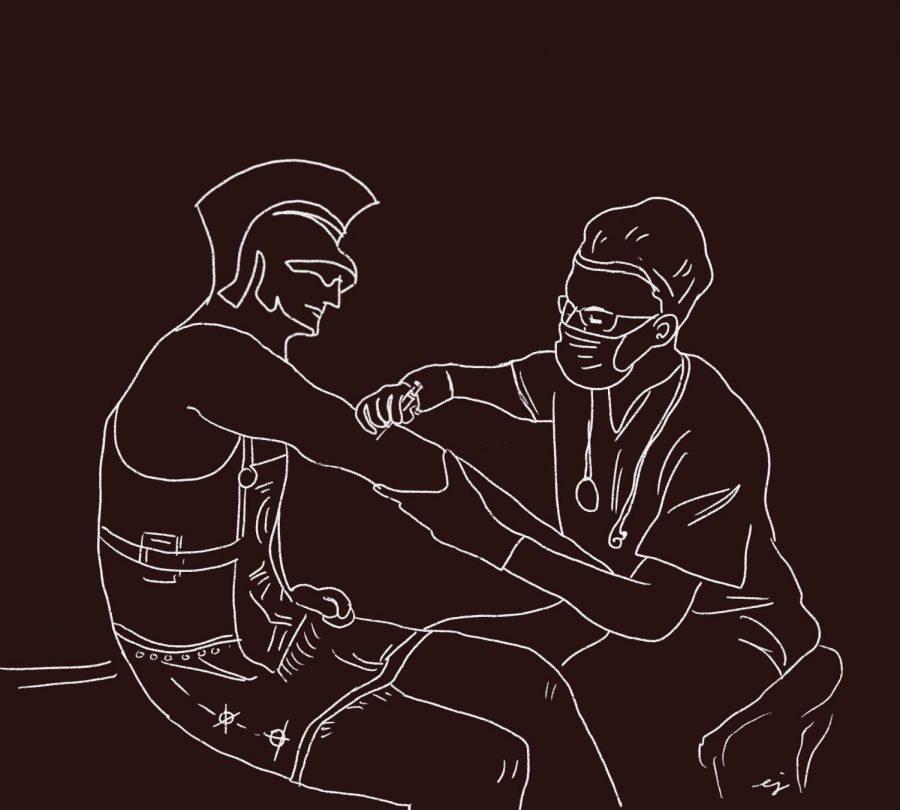 Westmont Warriors begin receiving vaccines