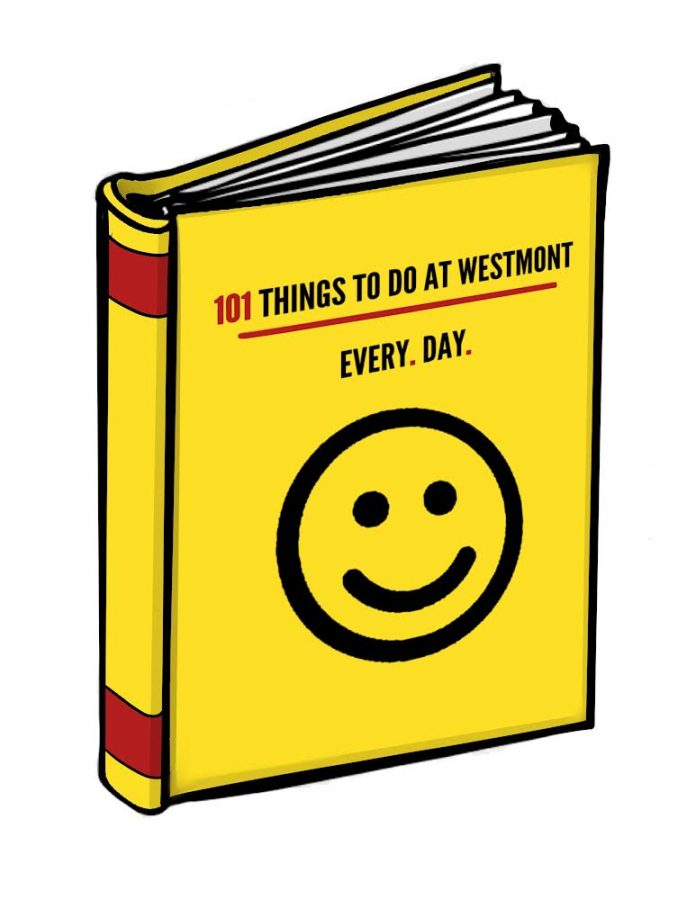 101 things to do at Westmont every day