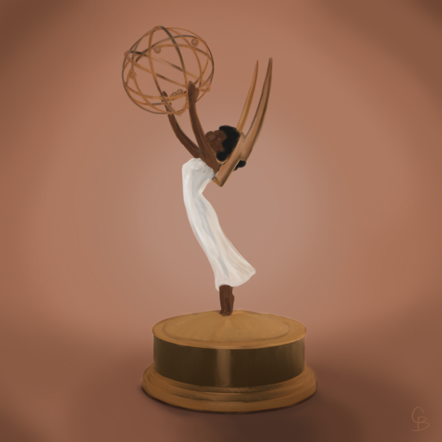 Only three people of color won awards at the 2021 Emmys.