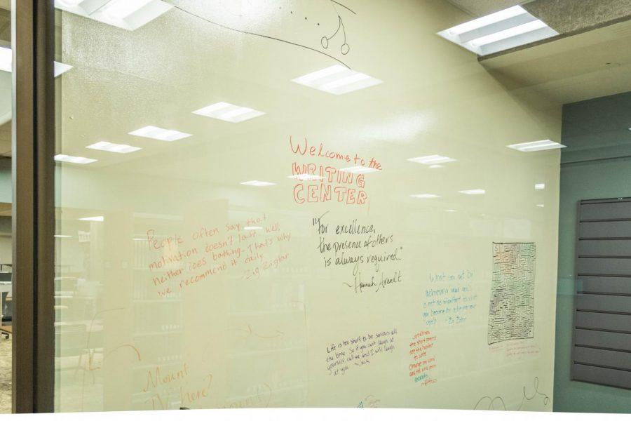 Writers Corner white board