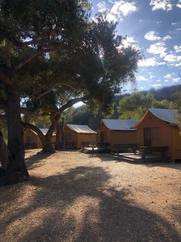 Students overnight housing at Forest Home Ojai, where the retreat took place.