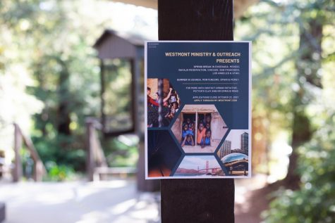 Westmont Ministry & Outreach Poster