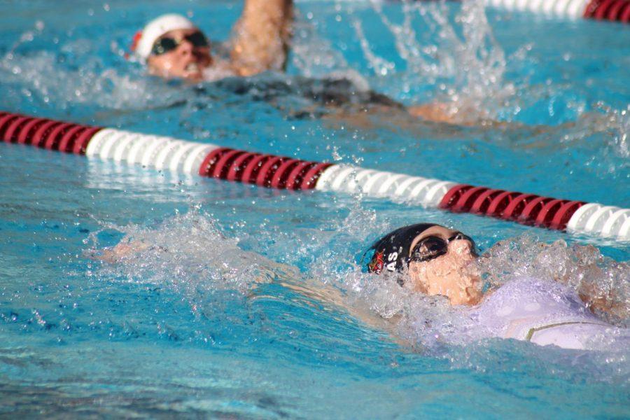 Swim team breaks records this season
